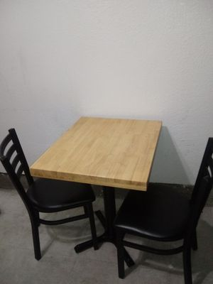 Reataurant Style Table and 2 Chairs for Sale in Hayward, CA
