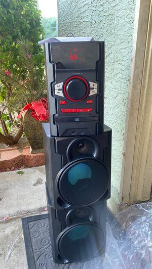 New blackweb 100w Bluetooth cd stereo system for Sale in Phoenix, AZ