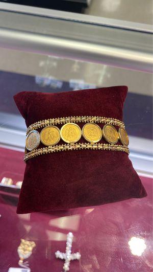 14k Coin Bracelet for Sale in Houston, TX