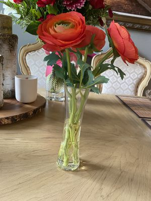 """Flowers- Poppies with vase """" decor"""" for Sale in Vancouver, WA"""