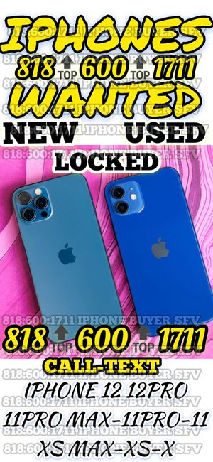 """iPhone 11 Pro Max 12 mini blacklisted iCloud new Xs xs Max x phone sealed iPad Air 12.9 WiFi cellular Apple Watch 6 MacBook Pro 13"""" 2020 Touch sealed for Sale in Los Angeles, CA"""