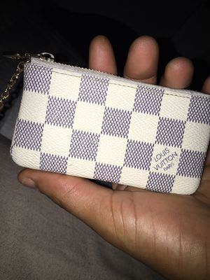 Louis Vuitton pouch with key chain for Sale in New Haven, CT