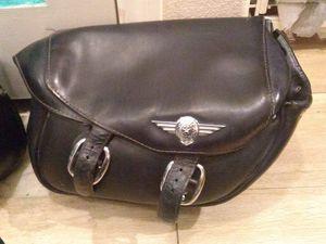 Harley Davidson vintage leather saddlebags for Sale in Las Vegas, NV