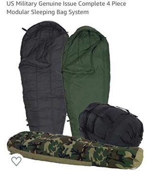 Military Modular Sleeping Bag System for Sale in Jersey City, NJ