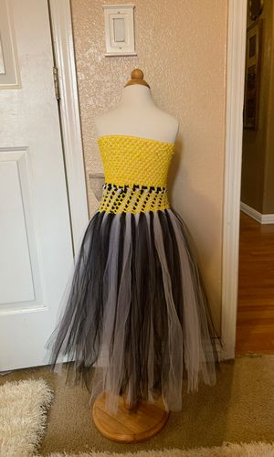 Bumble bee inspired tulle tutu for Sale in Cottonwood, AZ