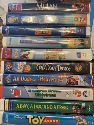 70 VSH tapes for family viewing. $50 for Sale in Seminole, FL