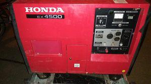 Honda ex4500 generator for Sale in Seattle, WA