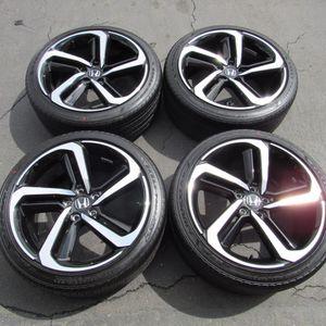 "19"" oem Honda Accord factory wheels 19 inch rims black Honda Accord Goodyear for Sale in Irvine, CA"