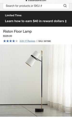 Riston floor lamp for Sale in Livermore, CA