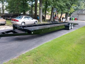 2-3 Car Trailer 42' Like New! for Sale in Cleveland, OH