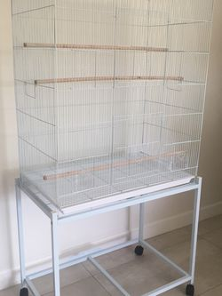 Large Flight Bird Cage With Stand On Wheels BRAND NEW for Sale in Los Angeles,  CA