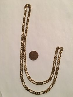 """Gold Filled Chain 24"""". Reduced for Sale in Pensacola,  FL"""