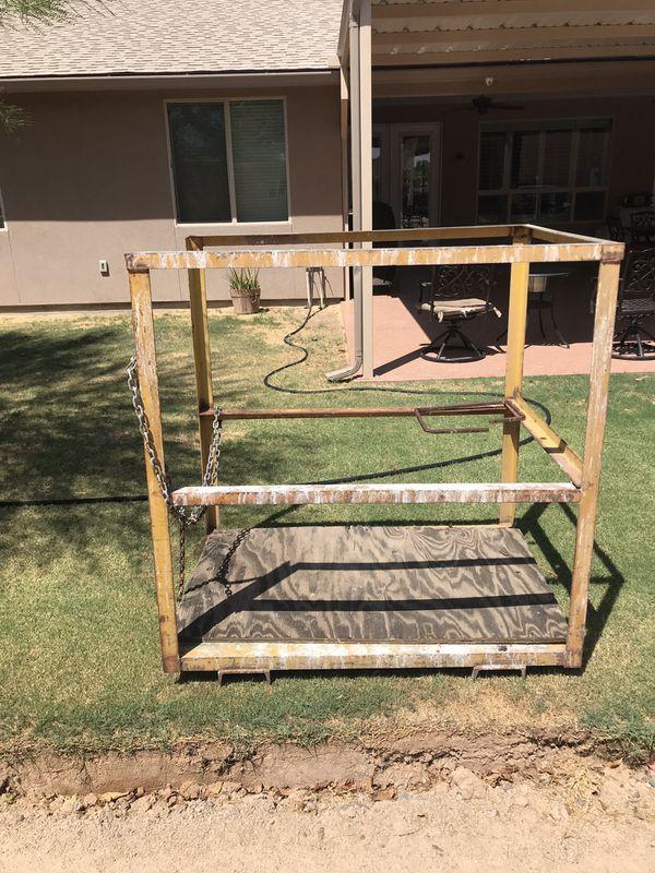 Forklift cage