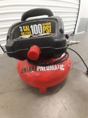 Air compressor 3 gallon tank for Sale in San Jose, CA