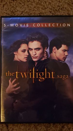 The Twilight Saga: 5 Movie Collection DVD for Sale in Chandler, AZ