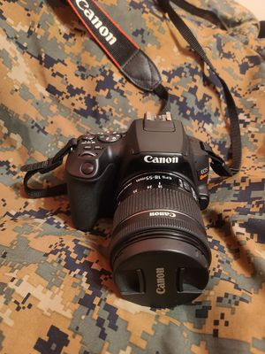 Cannon EOS Rebel SL3 w/ 2 batteries, charger, & neck strap. for Sale in Arvada, CO