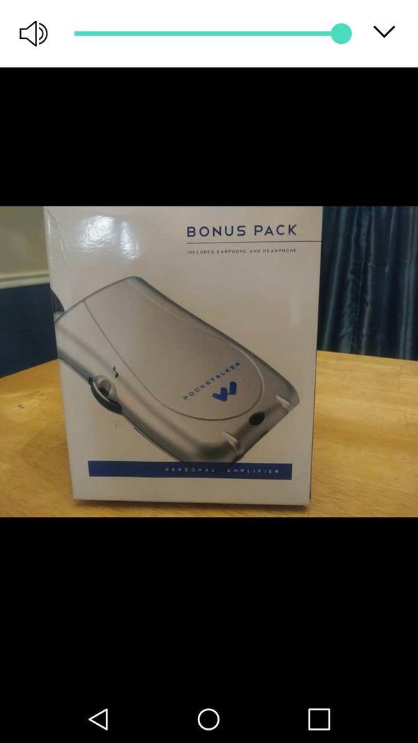 Pocketalker Ultra Personal Amplifier System