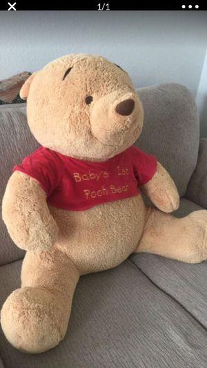 Big poah teddy bear for Sale in Katy, TX