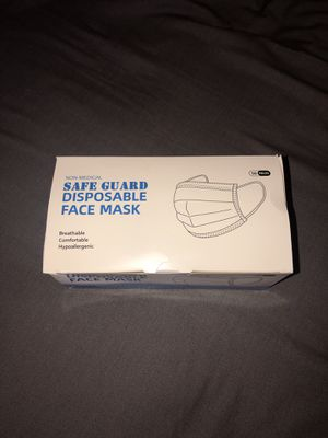 Face Mask 50 Pieces for Sale in El Monte, CA
