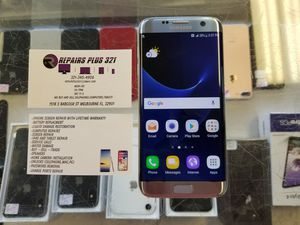 GSM Unlocked Silver Galaxy S7 Edge 32gb for Sale in Melbourne, FL
