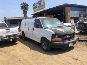 "03 gmc savana 2500 ""for parts"" for Sale in San Diego, CA"