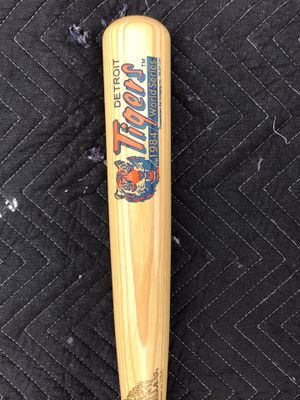 Detroit Tigers Baseball Bat never used. Collectibles for Sale in Livonia, MI