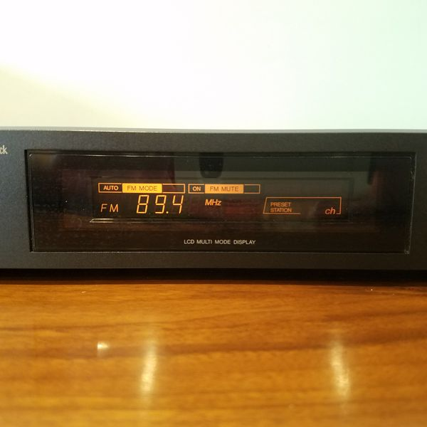 JVC FX-97 Black Stereo Tuner Computer Controller Tuner FM/AM Victor Company