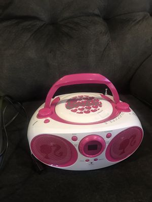 Barbie CD Player/Radio for Sale in Upland, CA