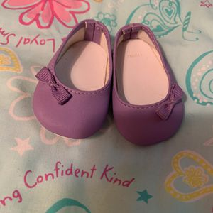 American Girl Doll Purple Flats for Sale in Merritt Island, FL