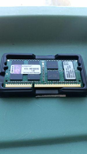 8 GB Kingston laptop ram for Sale in Scranton, PA