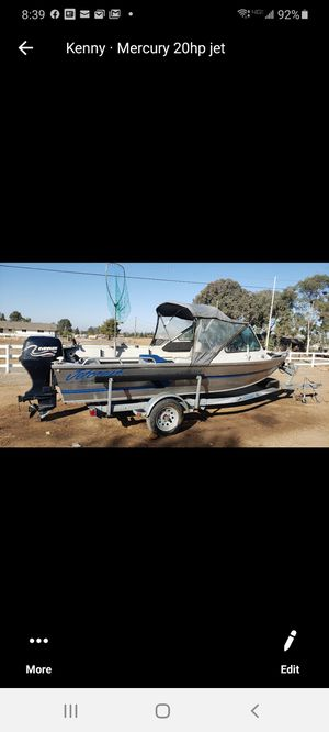 Jet craft river boat for Sale in Madera, CA