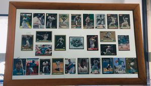 FLORIDA MARLINS 1997 World Champions Line Up Baseball Cards Framed for Sale in Miami, FL
