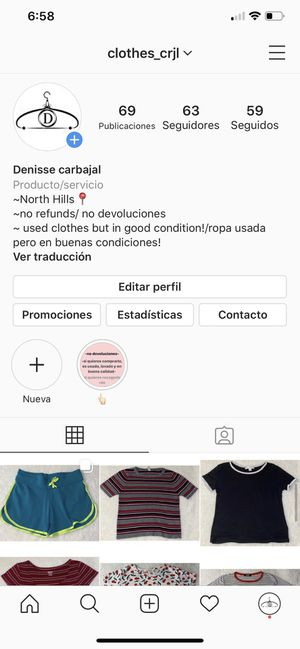 Instagram for Sale in Los Angeles, CA