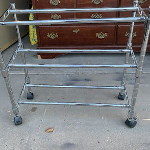 Rolling Shoe/ DVD Cart for Sale in Glendale, AZ