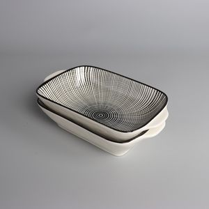 Set of 2 Ceramic Casserole Baking Dishes With Handles for Sale in Brooklyn, NY