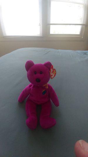 Millennium beanie baby bear for Sale in Princeton, NJ