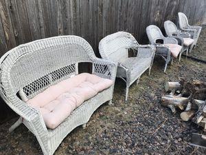 Wicker patio furniture for Sale in Aurora, CO