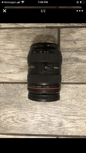 canon lense 24-70 for Sale in Hodgkins, IL