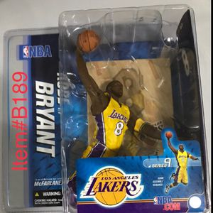 New McFarlane Toys NBA Sports Picks Series 9 Action Figure Kobe Bryant 3 for Sale in South El Monte, CA