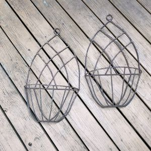 Pair of Handcrafted Wall hanging Plant baskets for Sale in Atlanta, GA