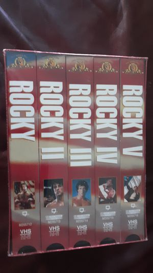 Rocky 4 vhs set never opened for Sale in Pinellas Park, FL