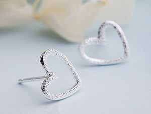 ✔️New sterling silver heart earrings for Sale in Algonquin, IL