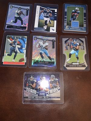 Titans football cards for Sale in Stoughton, MA