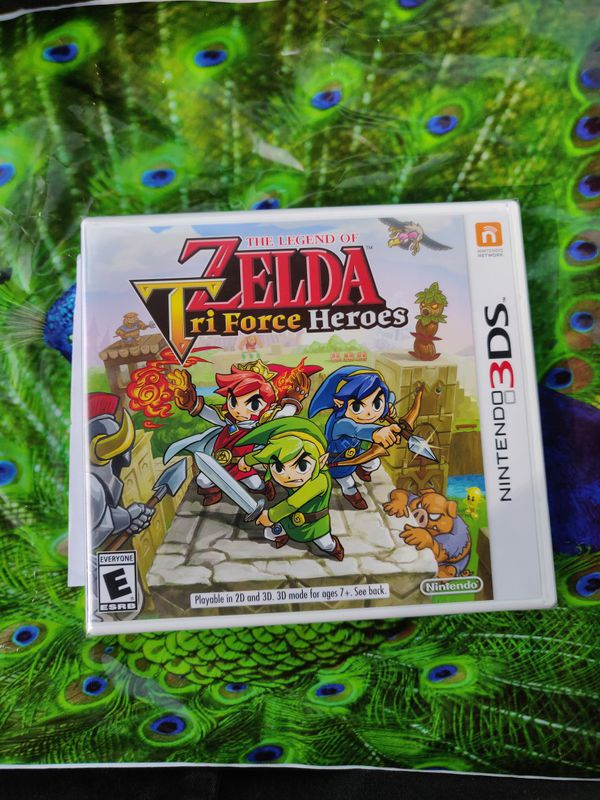 Zelda tri force heroes Nintendo 3ds new sealed