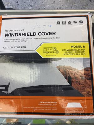 RV Accessories Windshield Cover for Sale in Washington, DC