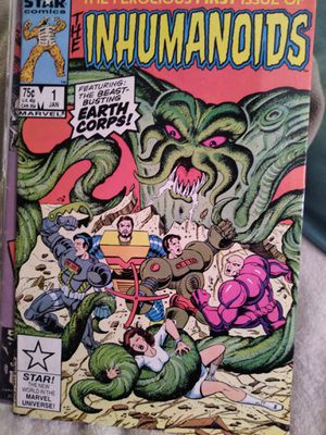 vintage The Inhumanoids #1 Marvel comic for Sale in Sacramento, CA