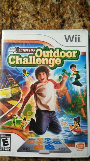 Outdoor challenge Wii game active life for Sale in Highland, CA