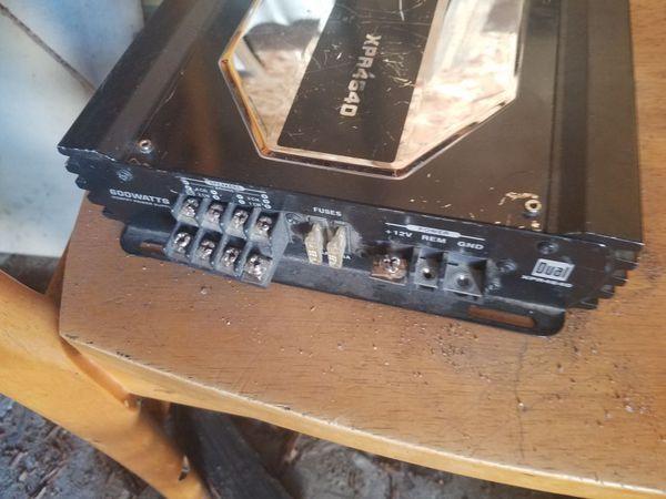 600 watts amplifier