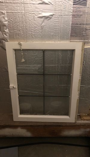 6 piece glass Antique led grid window for Sale in Lake Stevens, WA