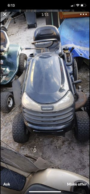Craftsman lawn tractors for Sale in Hialeah, FL